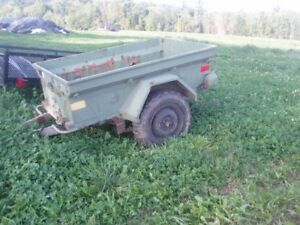 Wanted M100 Army Trailer for Jeep