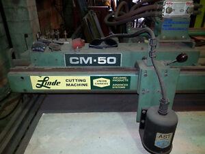 LINDE Union Carbide CM-50 / AST Cutting Machine Pattern Burner