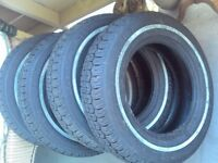Assorted Sized Tires