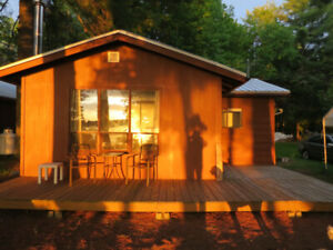 Rent 1 or 2 Cottages. Pristine Lake Cottage, Sunsets, Beach