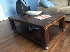 Make an Offer...Handmade Coffee Table - Aged - 4x4 Legs