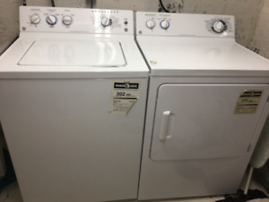 GE WASHER & DRYER SET