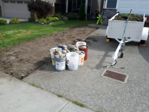 Free sod, rock & clean fill
