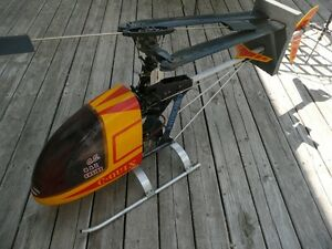 R/C gas helicopter