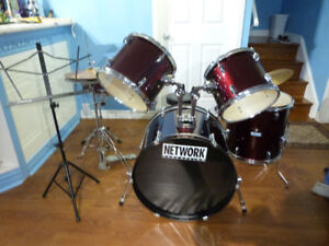 Drum Set Complete with manuals