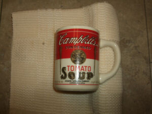 Campbell's Soup Cup. Tomato, old