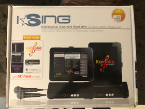 Karaoke Music System for devices w/ audio plug (ipad/mobile)