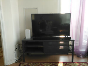 """TV bench and TV (42"""")"""