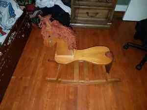 Wooden frame horse Windsor Region Ontario image 1