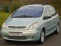 CITROEN XASARA PICASSIO 2.0i 16v AUTOMATIC 2004 EXCLUSIVE,2 OWNERS,FULL MOT