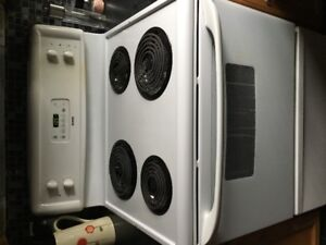 stove, microwave and built in dishwasher