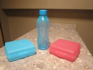 BRAND NEW TUPPERWARE -   BLUE WATER BOTTLE