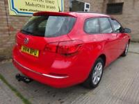 Vauxhall Astra Design PETROL AUTOMATIC 2014/14