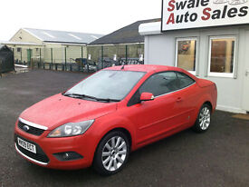 2009 FORD FOCUS CC-3 2.0TDCi CONVERTIBLE ONLY 50,323 MILES, FULL SERVICE HISTORY