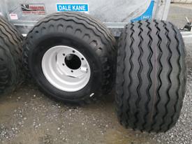 trailer wheels agri silage tyres 400 60 15.5