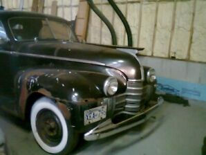 1940 Olds coupe, BC farm car