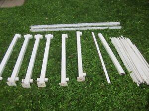 White Aluminum Railing - Regal from Home Hardware