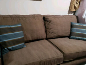 Sofa set from the brick - sofa and love seat
