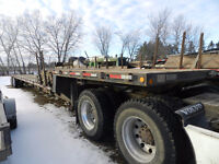 2011 Clark Drop Deck Trailer Model CDFBT Safetied