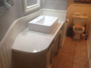 Custom Granite and Quartz Fabrication New Vanity's/full tops Cambridge Kitchener Area image 5
