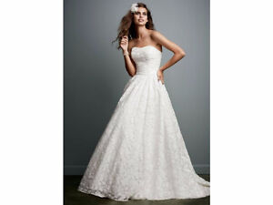 Lace Ball Gown Wedding Dress robe mariage WG3512 Soft White