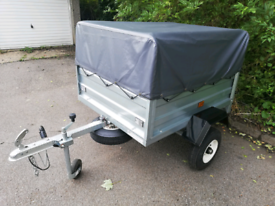 Maypole MP712 trailer with extras (same size as Erde 122)