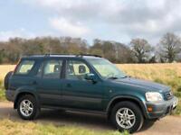 LEFT HAND DRIVE 1999 [R] HONDA CR-V 2.0 AUTO GREEN 4X4 PETROL 5DR LHD UK REG