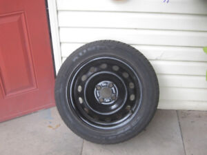 Winter Tires with Rims 195/55/515