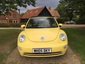 VOLKSWAGEN BEETLE 8V 2005 Petrol Manual in Yellow