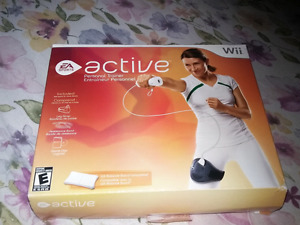 For sale active  Nintendo wii exercise video game.