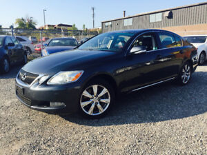 2008 Lexus GS AWD PREMIUM PACKAGE NAV CAMERA Sedan