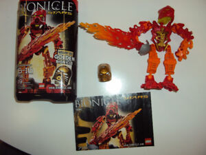 Bionicle: Tahu (complete with booklet and canister)