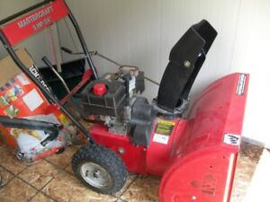 MASTERCRAFT 5 HP SNOWBLOWER  24IN CUT