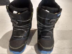 Burton Zipline Snowboard Boot with BOA Closure Size 7