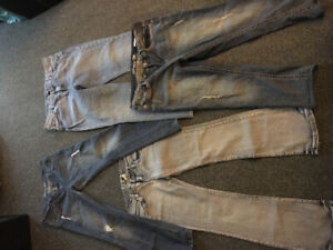 Lot of name brand name  woman's jeans