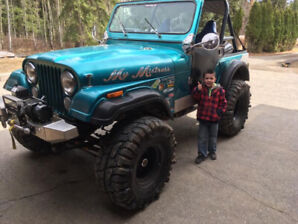 Head turner 1977 cj5