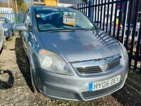 2006 Vauxhall Zafira 2.2 CLUB 16V Auto MPV Petrol Automatic