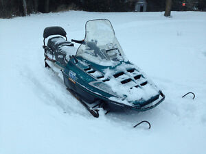 1993 Polaris Indy Trail 488cc 2-up $1100 obo