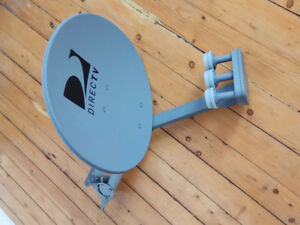 SATELLITE  DISH  DIRECTV AND  RECEIVER