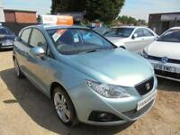 2009 09 SEAT IBIZA 1.4 SPORT 5DR 85 BHP FINANCE WITH NO DEPOSIT AND NOTHING TO P
