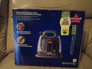 Bissell Spot Cleaning Machine (removes stains) Brand new.