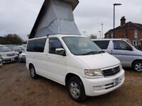 MAZDA BONGO LIFTING TOP, 1999, 2.0, 64,372 MILES, PETROL, AUTOMATIC IN WHITE