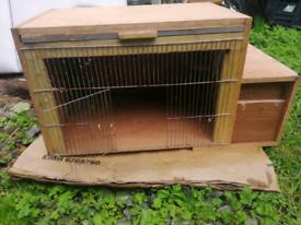 Rabbit hutch/bird cage..