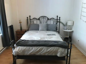 Well located 3 1/2 by metro for lease take over/sublet $785