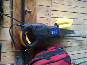 electric hand saw.
