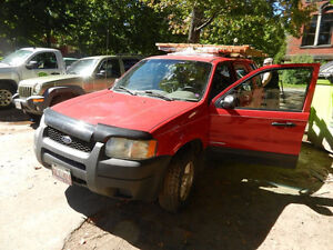 2002 Ford Escape for parts