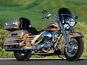 SCREAMIN EAGLE ROAD KING /  FLHR TINTED WINDSHIELD