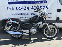 Yamaha YBR125 Custom / Learner Legal Custom Cruiser / Nationwide Delivery