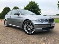 2004 BMW 316 1.8 TI ES COMPACT AUTOMATIC PETROL 3 DOOR HATCHBACK