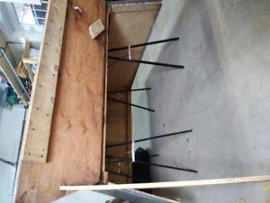 Boite de plywood pour dodge ram 1500 .2014